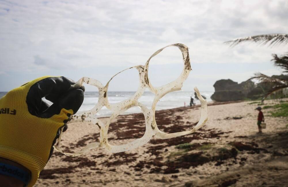 Collecte de déchets pour lutter contre la pollution plastique des océans
