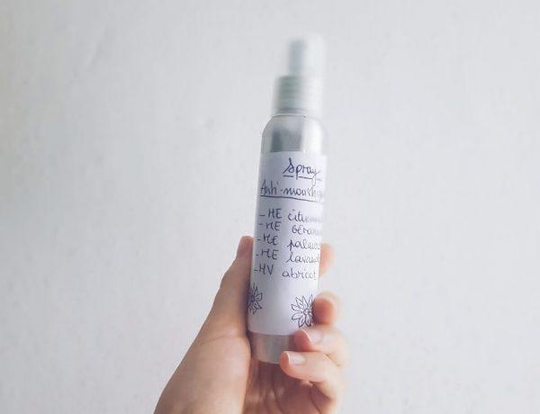 Recette DIY spray anti-moustique naturel aux huiles essentielles