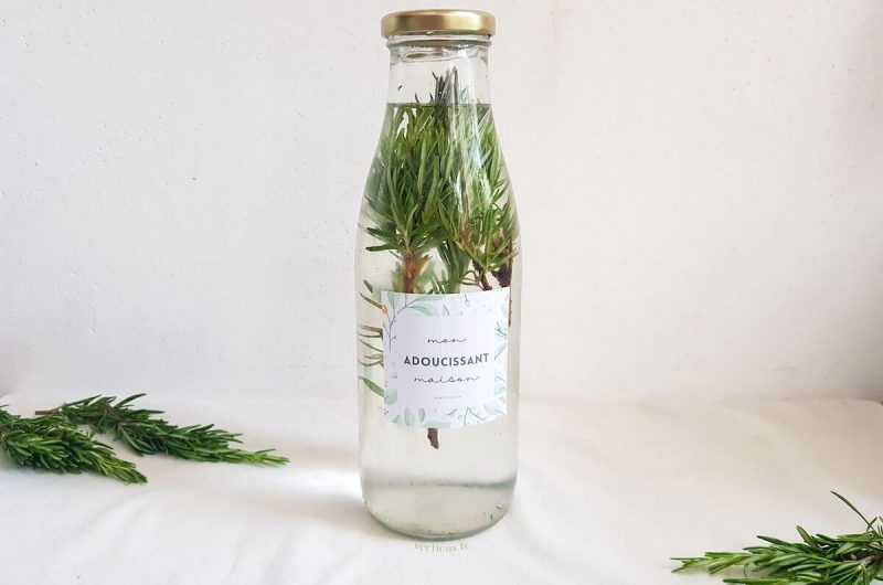 Recette d'adoucissant maison au vinaigre blanc et parfumé aux plantes du jardin