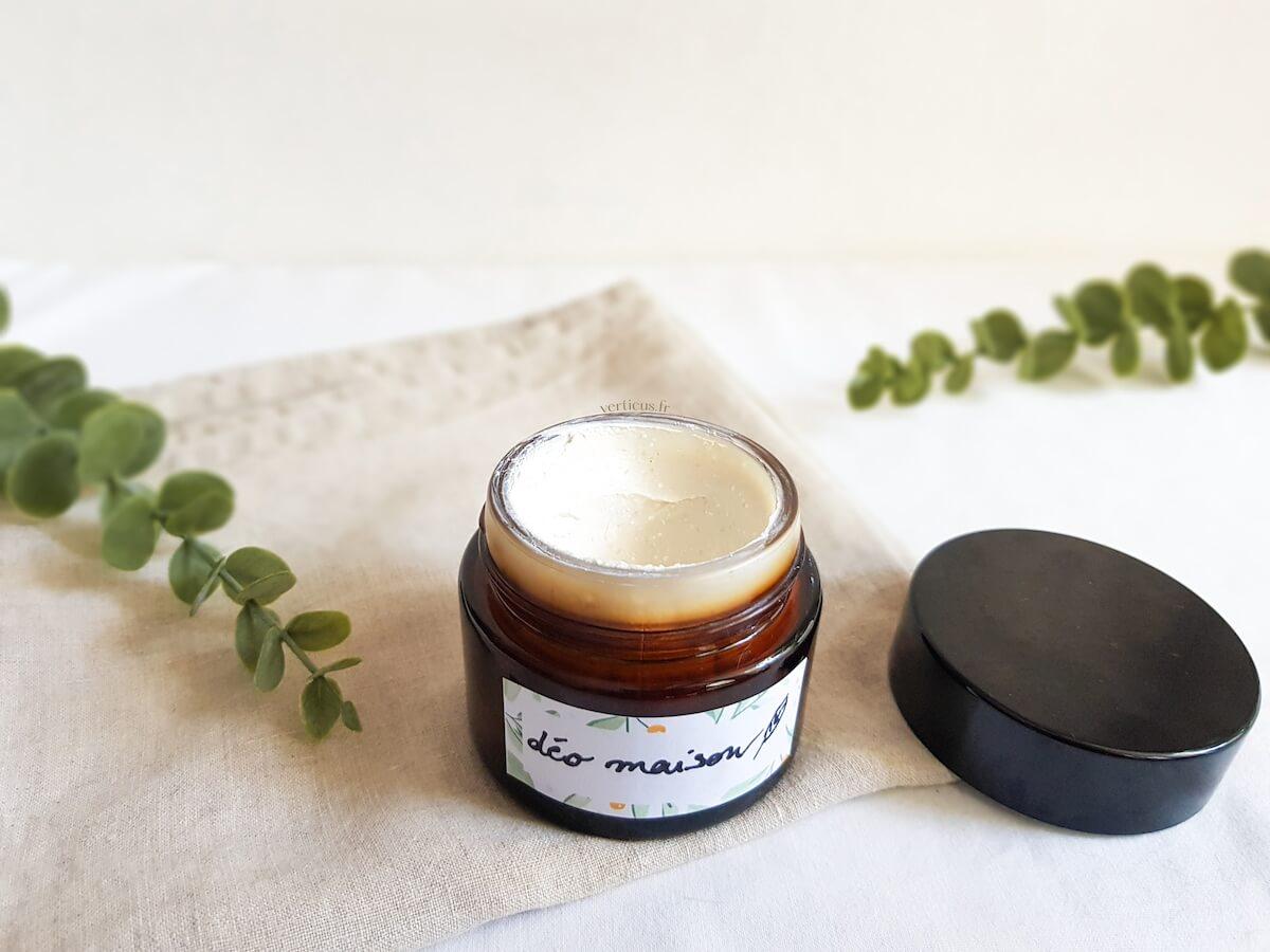 Recette de déodorant maison pour peaux sensibles sans bicarbonate