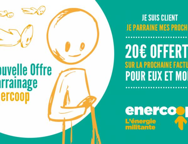 Code promo parrainage Enercoop