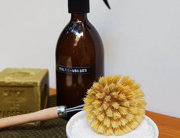 Recette du cake vaisselle maison (vraiment moussant et dégraissant)