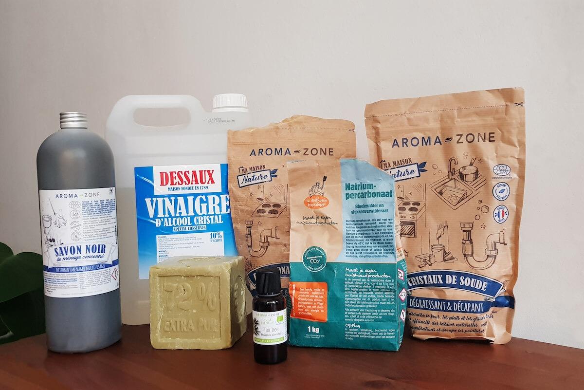 Ménage au naturel : 9 ingrédients de base pour créer ses produits d'entretien maison