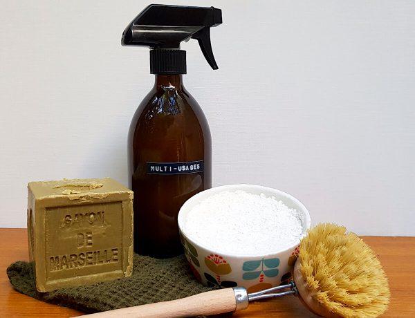 Recette de cake vaisselle maison moussant et dégraissant