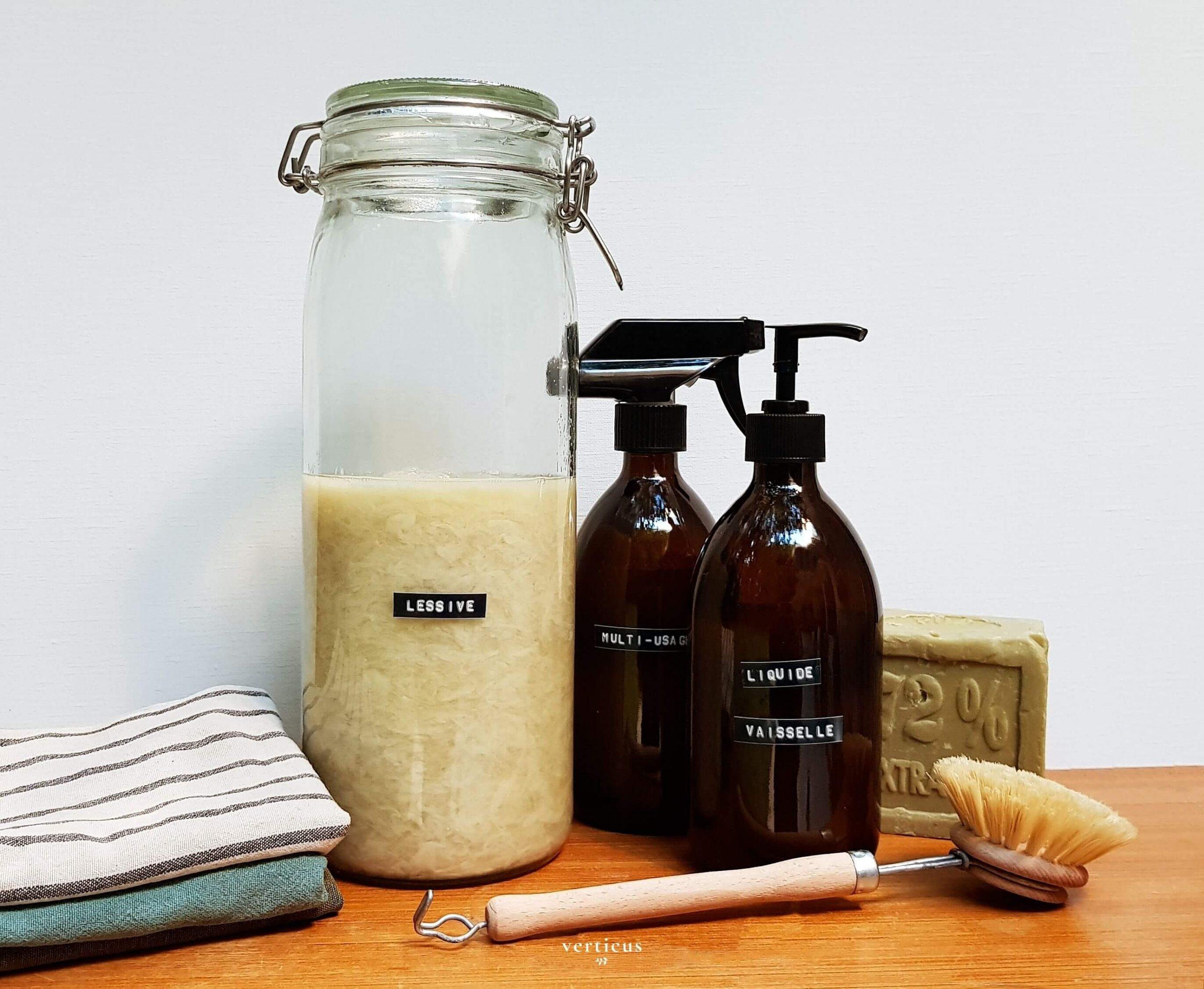 Fabriquer ses produits ménagers soi-même: les recettes maison !