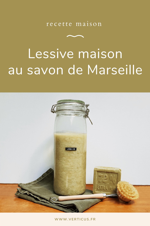 Découvrez comment fabriquer une lessive maison au savon de Marseille avec cette recette facile, économique et écologique !