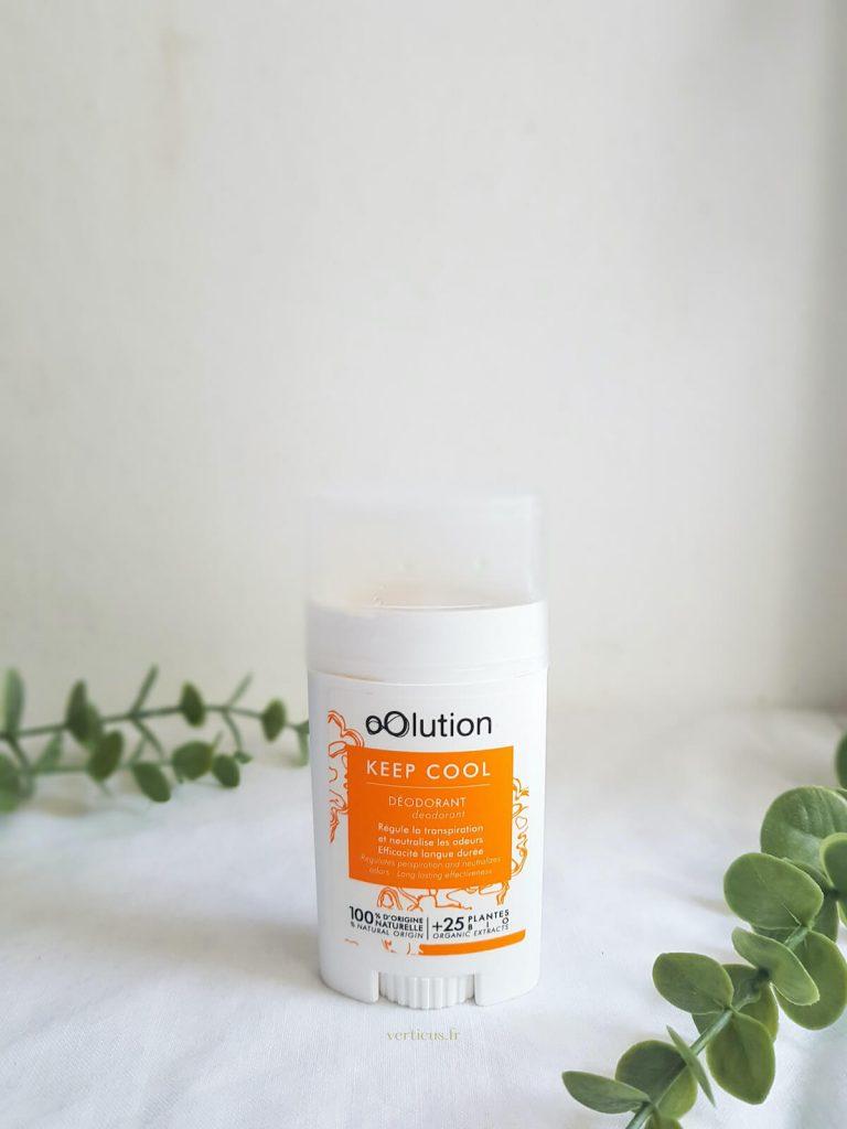 Déodorant naturel bio Oolution