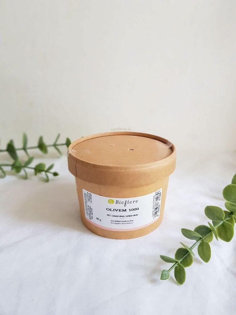 Olivem emulsifiant naturel pour faire ses cosmétiques maison
