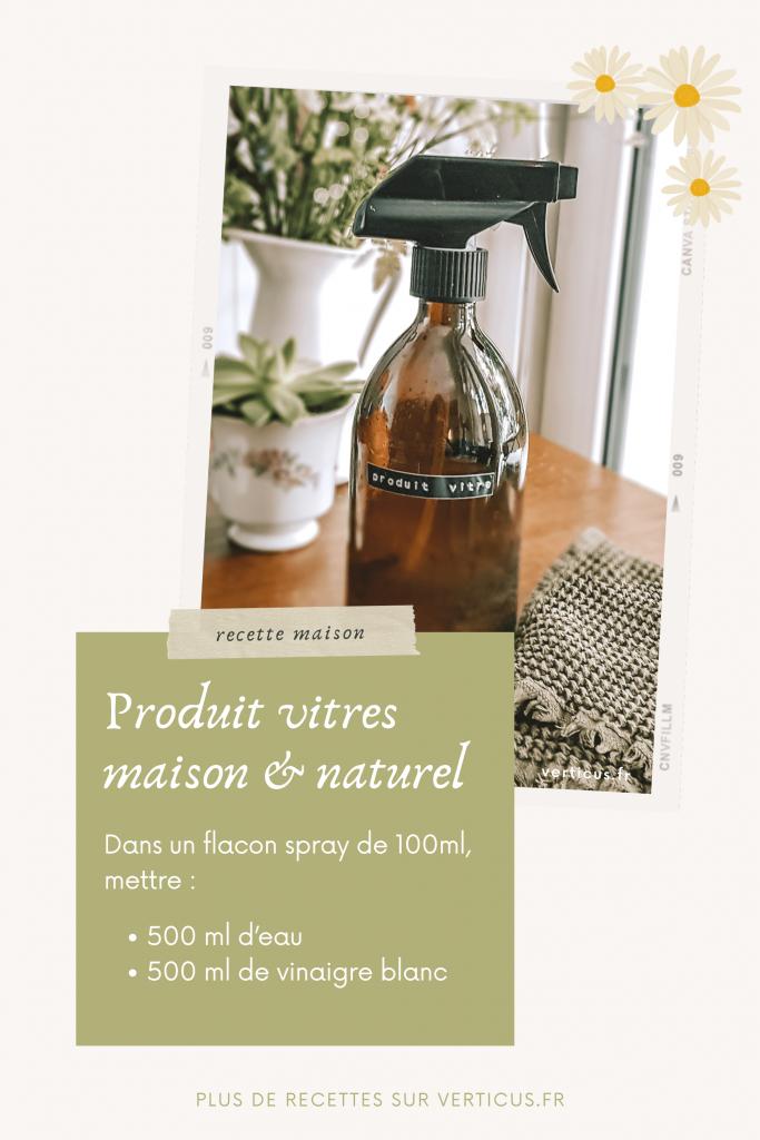 Voici comment fabriquer un nettoyant pour vitres maison qui ne laisse aucune trace avec un produit naturel, bon marché et écologique : le vinaigre ménager
